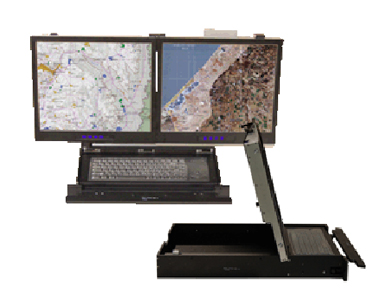 KVM DUAL 17″ DISPLAY
